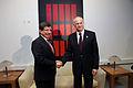 Ahmet Davutoglu and George Papandreou in Greece3.jpg
