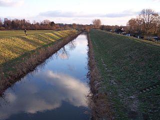 Ahse River in Germany