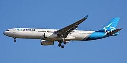 Airbus A330-300 der Air Transat