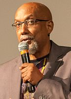 Ajamu Baraka at Oct 2016 Berkeley rally for Jill Stein - 4 (cropped) (cropped).jpg