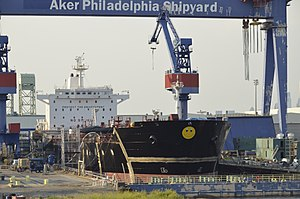 Philly Shipyard - Aker Philadelphia Shipyard