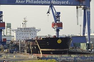 Philly Shipyard - Aker Philadelphia Shipyard
