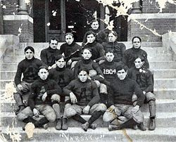 Alabama Polytechnic Institute Varsity (Auburn University) Football Team 1904 cropped.jpg