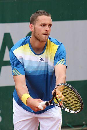 Albano Olivetti - Albano Olivetti playing at Roland Garros 2013