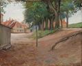 Albert Gottschalk - Ved Volden i Nyborg - 1892.png