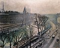Albert Marquet, 1938c - Paris, Quai des Grands Augustins, Twilight.jpg