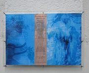 Albert Richter commemorative plaque in 'Rheinlandhalle' Köln-Ehrenfeld (Germany)