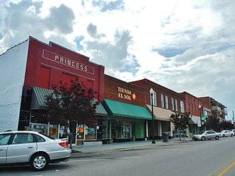 Albertville, Alabama - Albertville in 2012.