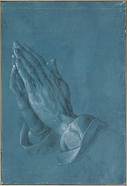 Albrecht Dürer - Praying Hands, 1508 - Google Art Project