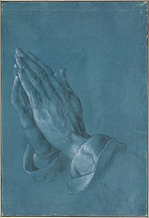 Praying Hands (Dürer) - Image: Albrecht Dürer Praying Hands, 1508 Google Art Project