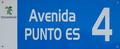 Alcalá de Henares (RPS 08-04-2017) Avenida Punto Es, cartel.png