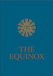 <i>The Blue Equinox</i> book by Aleister Crowley
