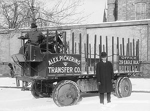 Alex Pickering Transfer Company, early moving ...
