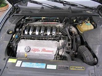 Alfa Romeo V6 engine - 2.0L V6 12V Turbo from Alfa Romeo 166
