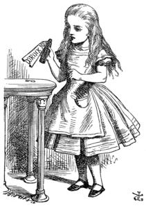 Alice alice nel paese delle meraviglie wikipedia - Alice dietro lo specchio ...