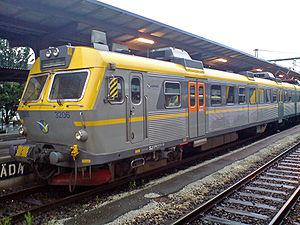 Gothenburg commuter rail - An X11 at Gothenburg Central Station