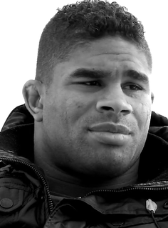 Alistair Overeem Dutch professional kick boxer and mixed martial arts fighter