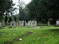 All Saints Church, Fulham, Graveyard - geograph.org.uk - 1039064.jpg