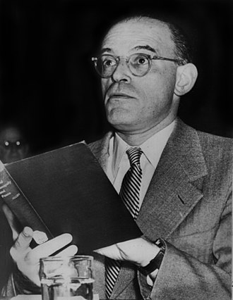 James S. Allen - James S. Allen testifying before the United States Senate, March 1953.