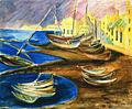Alma del Banco Fischerboote im Hafen.jpg