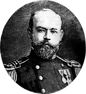 ARA Uruguay - Julian Irizar as Admiral (promoted 1914)