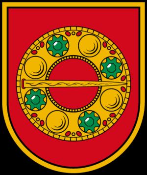 Alsunga Municipality - Image: Alsungas novads COA