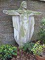Alverna (Wijchen, Gld, NL), statue Sacred Heart.JPG