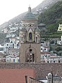 Amalfi Cathedral tower eastside.jpg