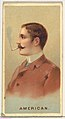 American, from World's Smokers series (N33) for Allen & Ginter Cigarettes MET DP838648.jpg