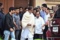 Amitabh Bachchan visits Rajesh Khanna's home Aashirwad 04.jpg
