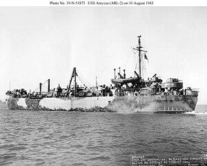 USS Amycus (ARL-2) - Amycus ARL-2