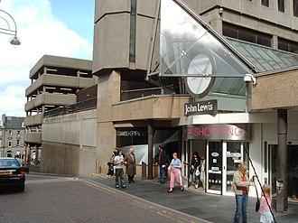 St. James Centre - Side entrance on Elder Street (now demolished)