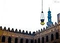 An islamic lantern hanging in Muhammad ibn Qalaun's Mosque.jpg