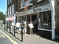 An orderly queue in Bewdley - geograph.org.uk - 1455126.jpg