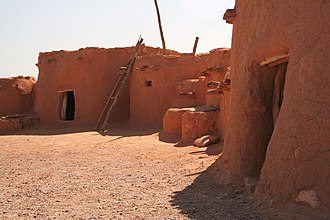 National Register of Historic Places listings in Clark County, Nevada - Image: Anasazi pueblo overton