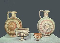 Ancient Cypriotic bichrome pottery 750-600 v. Chr. 2. C.jpg