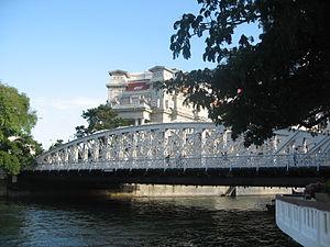 Anderson Bridge - Anderson Bridge, as seen from Queen Elizabeth Walk.