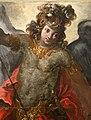 Andrea boscoli (attr.), annunciazione e i ss. sebastiano, michele arcangelo e forse giovanni battista, 1590-1610 ca. (museo diocesano di faenza e modigliana) 06.JPG