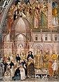 Andrea di Bonaiuto. Santa Maria Novella 1366-7 fresco. Detail..jpg