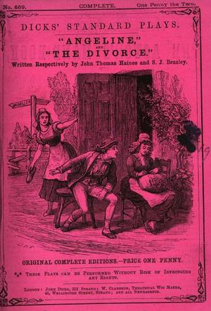 John Dicks (publisher) - Image: Angeline no 669 Dicks Standard Plays