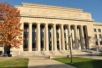 University of Michigan - Central Campus: Angell Hall, one of the major buildings of the College of Literature, Science, and the Arts