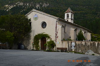 Angles, Alpes-de-Haute-Provence - The Church of Notre-Dame