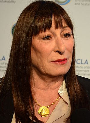 Anjelica Huston - Huston at the UCLA Institute of the Environment and Sustainability's An Evening of Environmental Excellence in March 2014