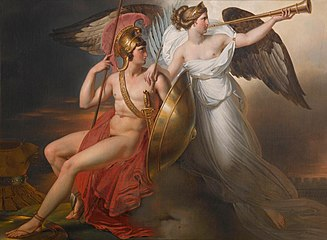Anne-Louis Girodet-Trioson - Allegory of Victory, 1814