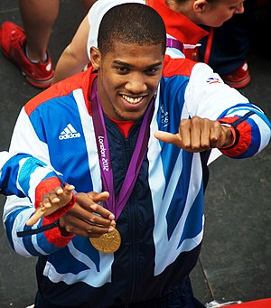 Anthony Joshua - Joshua in September 2012