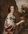 Anthony van Dyck - Portræt af en kvinde som Flora - KMSsp241 - Statens Museum for Kunst.jpg