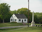 Antietam National Battlefield Memorial - Dunker Church 02