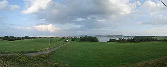 Antigonish County, Nova Scotia - Image: Antigonish Harbour Panorama 2