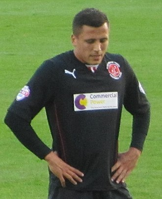 Fleetwood Town F.C. - Antoni Sarcevic's free-kick in the 2014 play-off final won Fleetwood's first promotion to League One in their history
