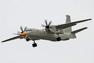 Military transport aircraft under development by Antonov and Taqnia